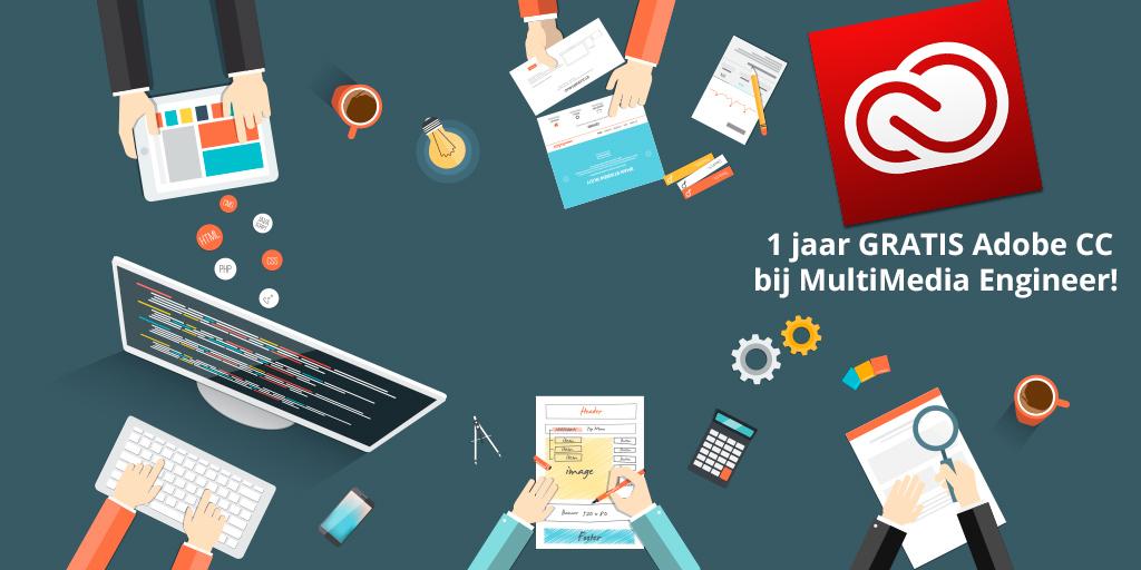 Aanbieding Adobe CC bij MultiMedia Engineer