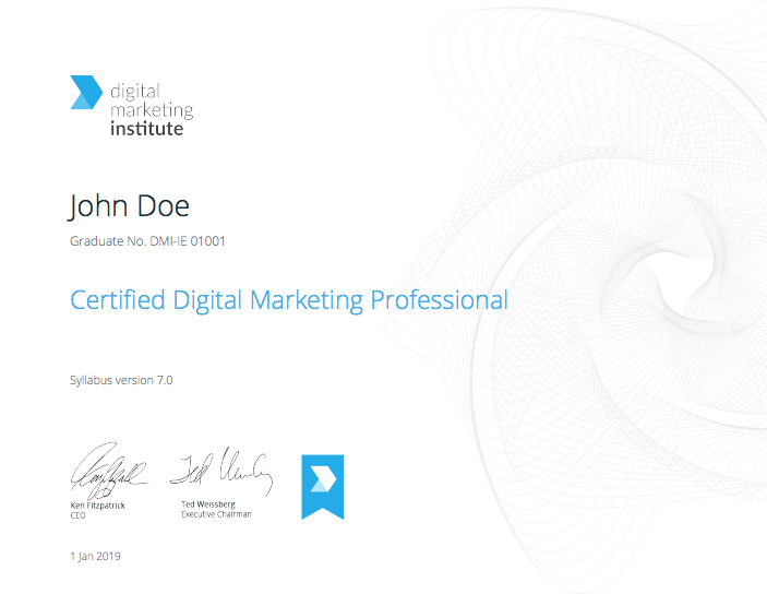 Certified Digital Marketing Professional - College of MultiMedia