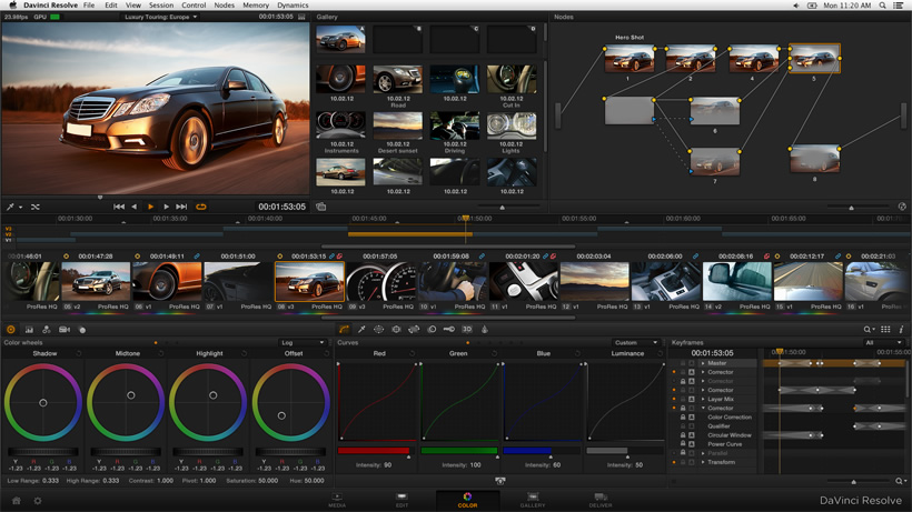 DaVinci Resolve Creative